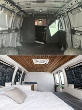 Photo of Discover the entire van conversion and learn how to live life on the road. #Conv…
