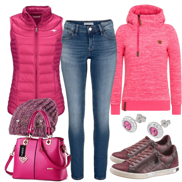 Pinky Outfit - Freizeit Outfits bei FrauenOutfits.de