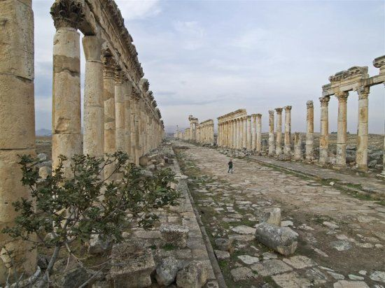 Apamea, Aleppo, Syria --- can't you just imagine Paul and Timothy
