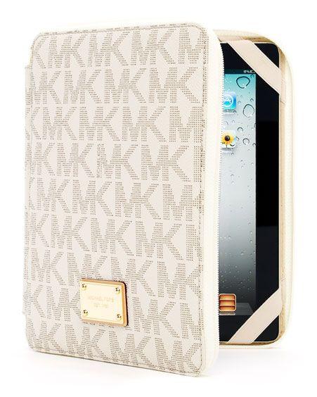 det billigaste första kurs var man kan köpa Michael Kors iPad case | Michael kors