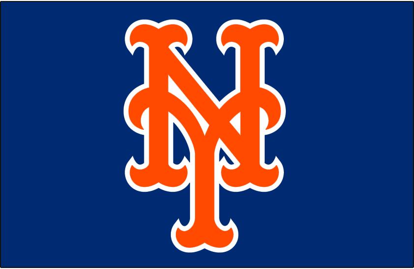 New York Mets Cap Logo New York Mets New York Mets Baseball Ny Mets Logo