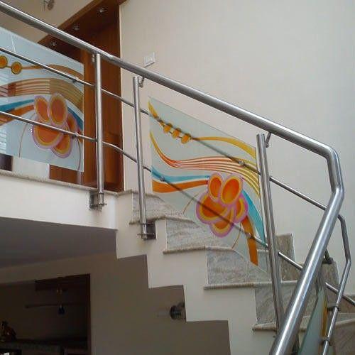 Best Pin By Sakthikumar Selvaraj On Glass Art A V M In 2019 Etched Glass Door Railing Design 400 x 300