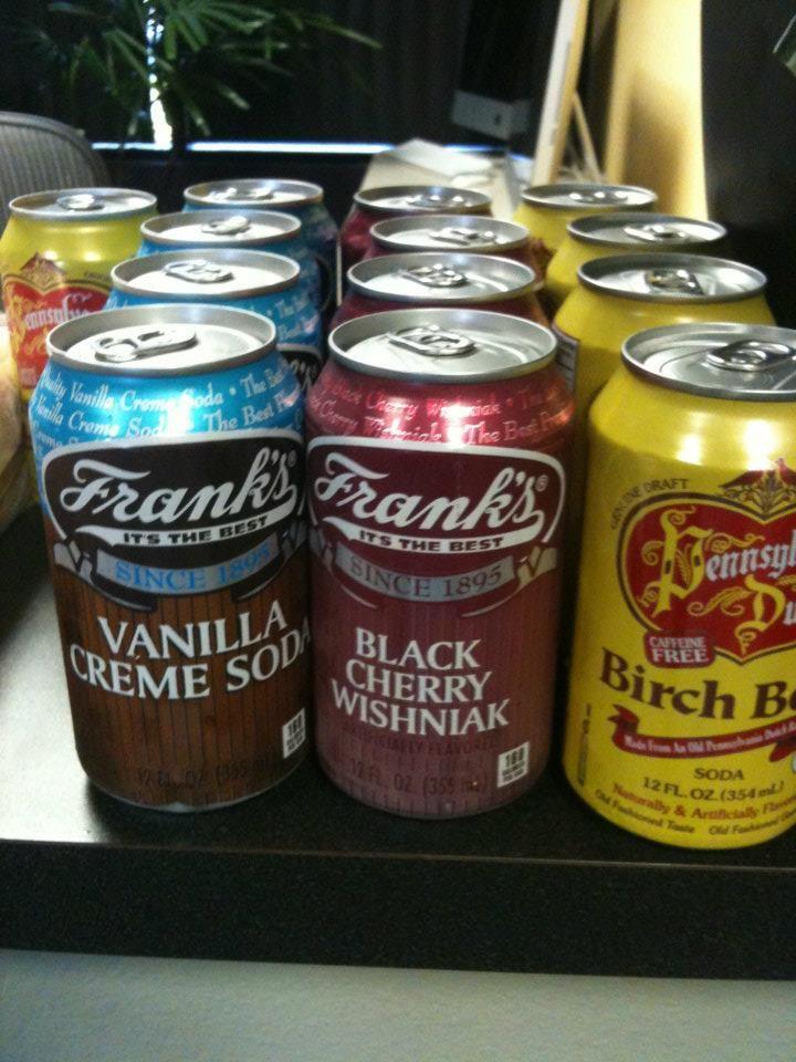 Philly sodas