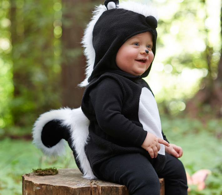 Baby Skunk Costume Pbk Baby Halloween Costume
