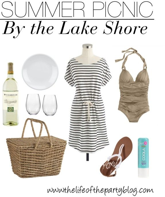 7c03913dbc6 What to Wear Wednesday  Summer Picnic by the Lake Shore