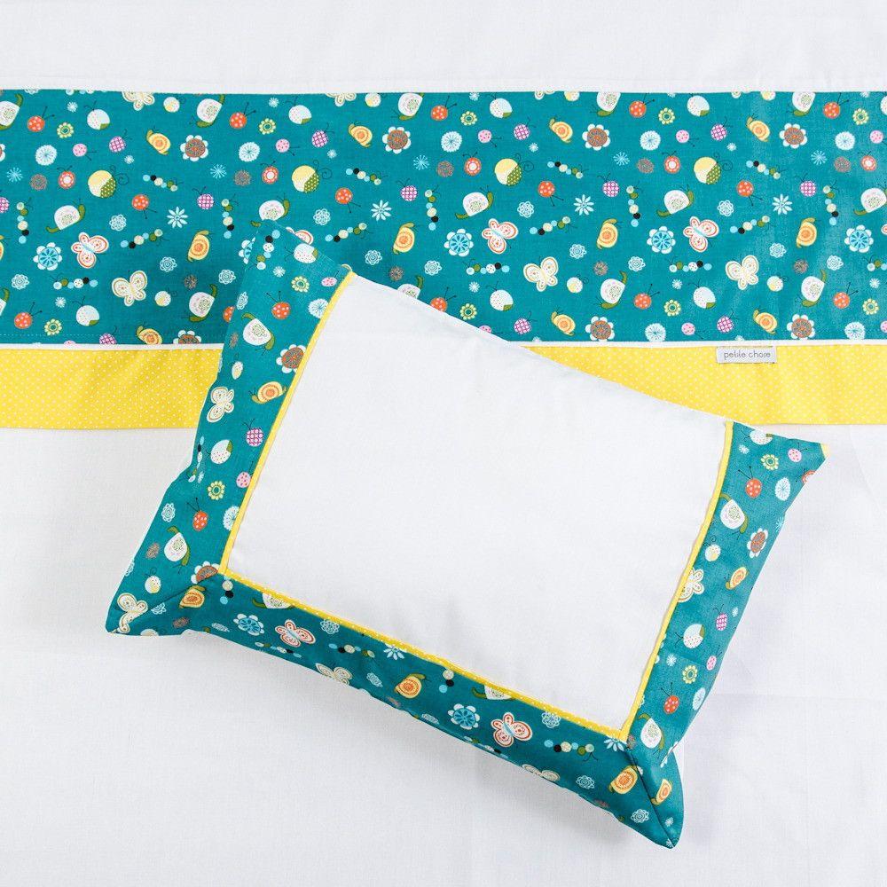 Jogo de lençol Bugs    Composição  - 100% algodão (percal 200 fios com vira em tricoline).    3 peças:  - 1 lençol de elástico  - 1 lençol com vira  - 1 fronha     Medidas aproximadas:  - lençol de elástico 1,0 m x 1,65 m  - lençol com vira 1,05 m x 1,70 m  - fronha 30 cm x 38 cm    Serve tanto p...