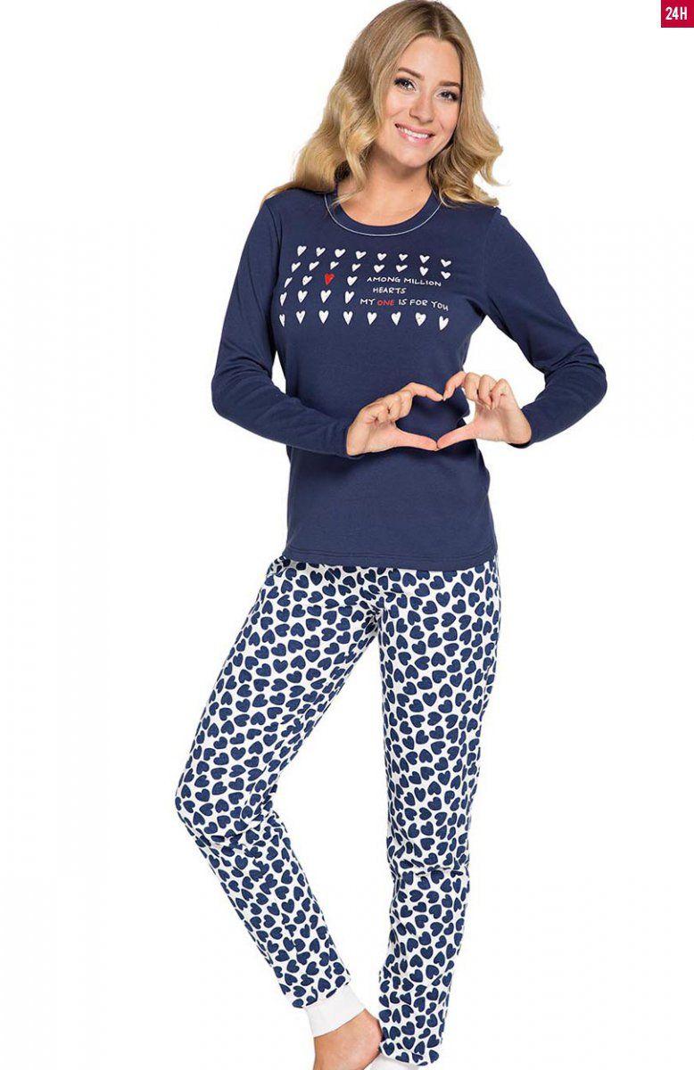 b3503342a63525 Italian Fashion Amor dł.r. dł.sp. piżama Komfortowa piżama damska Amor