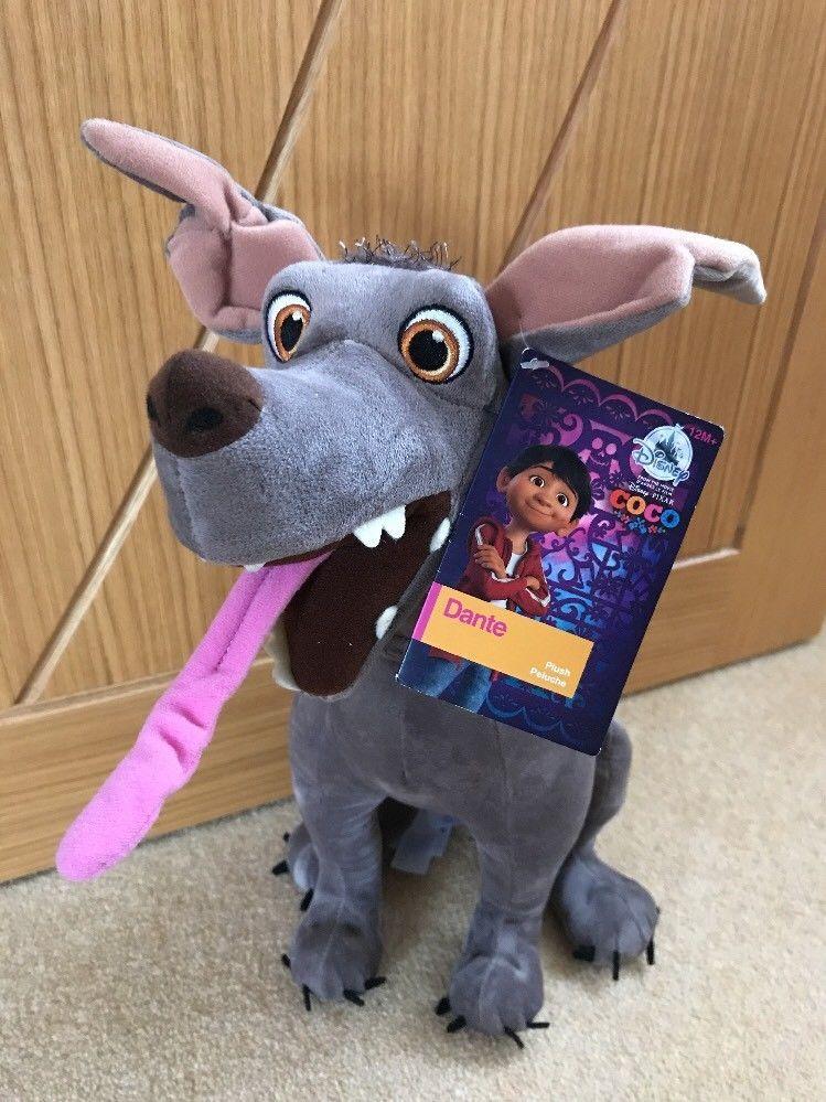 Official Disney Store Pixar Coco Dante Dog Medium Soft Plush Toy