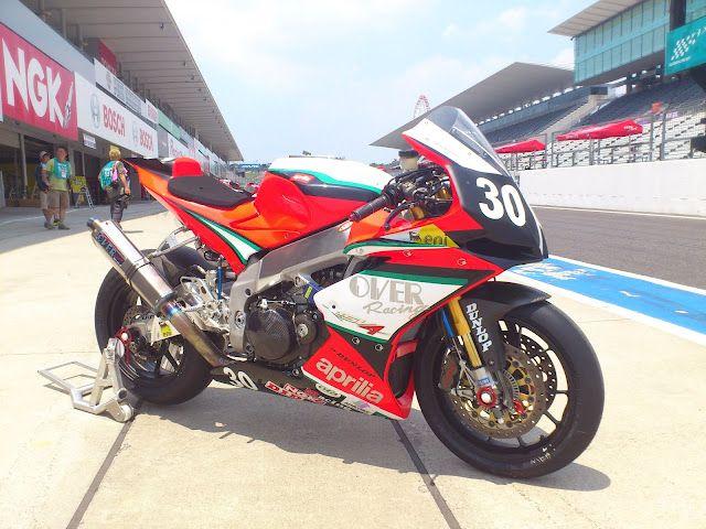 Aprilia RSV4 Team OVER & Moto Italiana Suzuka @ 8 Hours Suzuka 2012