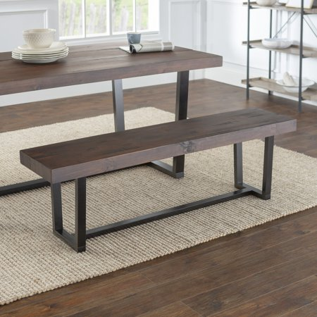 Amazing Manor Park 60 Inch Solid Wood Distressed Dining Bench Ibusinesslaw Wood Chair Design Ideas Ibusinesslaworg