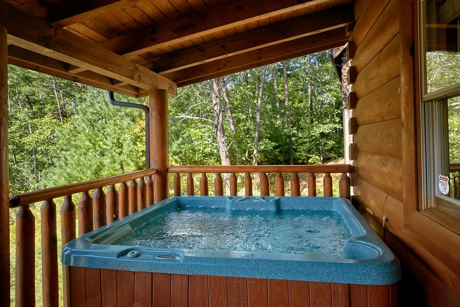 You Are Just Steps To A Year Round Indoor Pool From You Luxury 2 Bedroom Cabin In Pigeon Forge Gatlinburg Cabin Rentals Hot Tub Outdoor Indoor Pool Design
