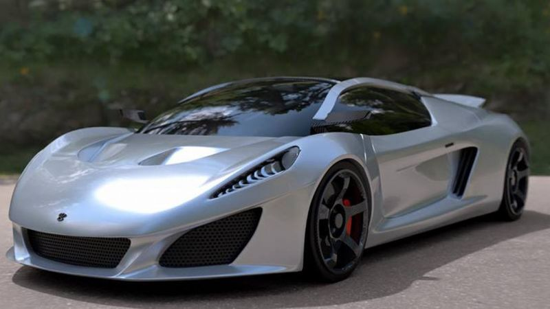 The Berus From Keating Supercars (2017) #supercas #automotiver #keating  T