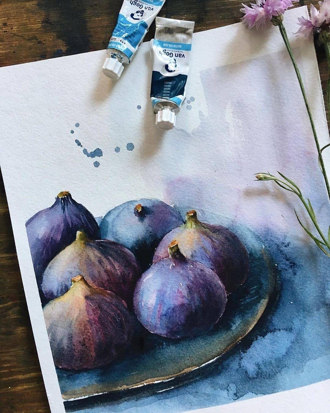 Best Watercolor Art On Instagram Rate This Art 1 1000