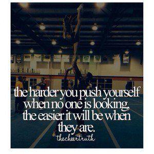 Cheerleading Tryouts Inspirational Quotes. QuotesGram
