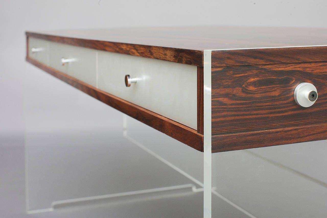 Desk By Poul Nørreklit For Georg Petersen Furniture
