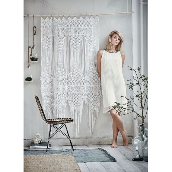 vorhang aufwendig verknotete f den baumwolle katalogbild wohninspiration pinterest. Black Bedroom Furniture Sets. Home Design Ideas