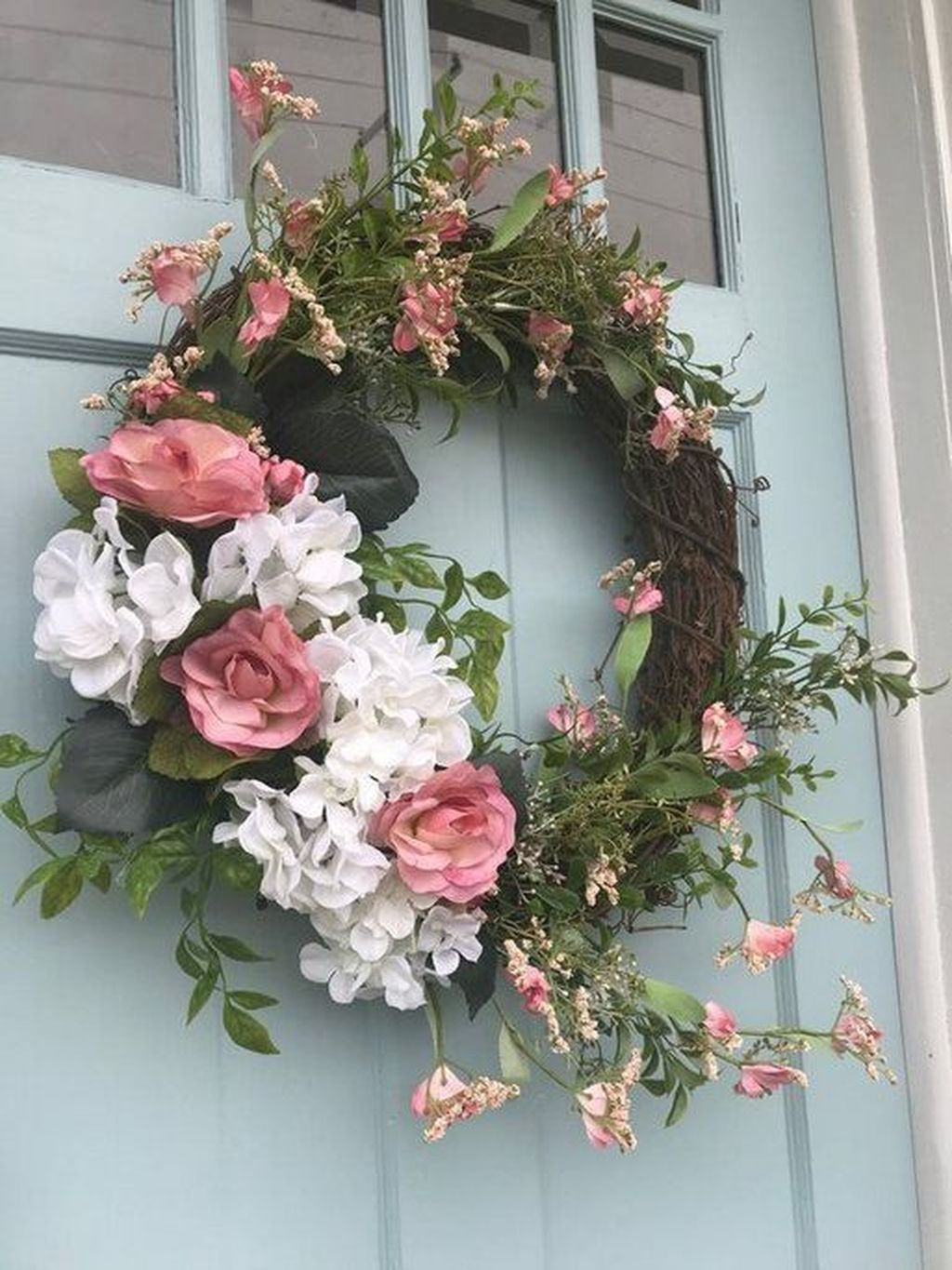 Photo of 49 Easy Spring Wreaths For Front Door Decor Ideas