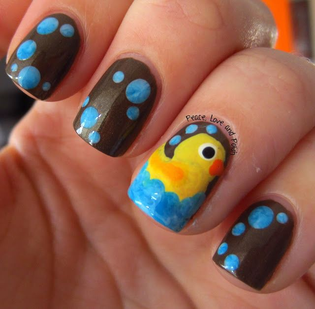 Rubber Ducky Youre The One Omg Nails Nails Nails Pinterest