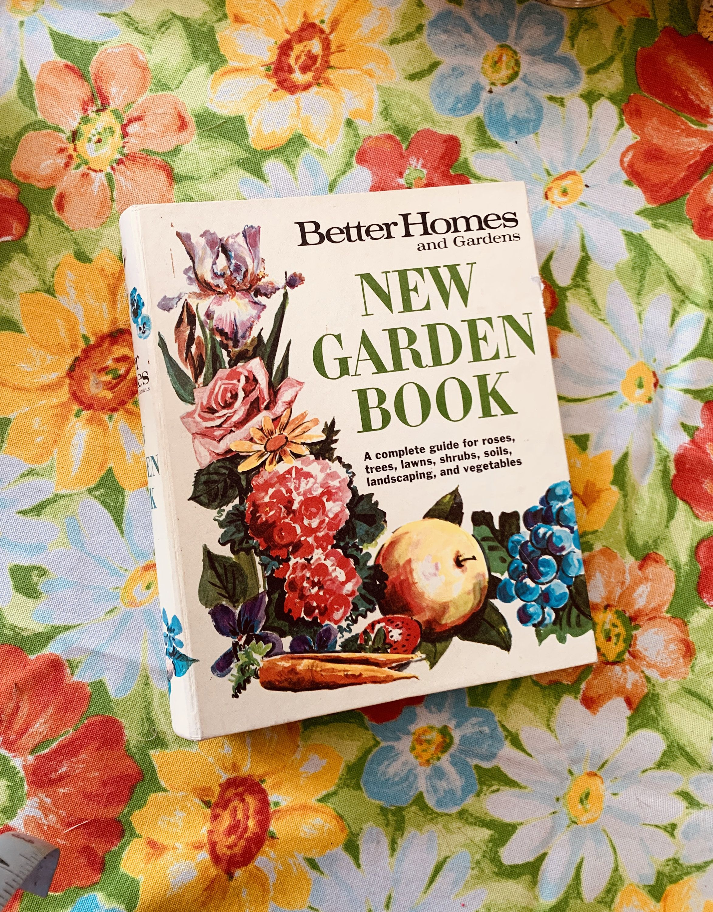 1960s Gardening Book Better Homes And Gardens New Garden Book In