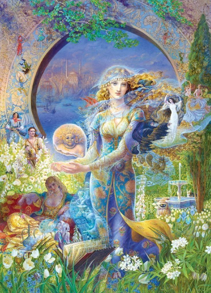 Masterpieces Kinuko Craft Cybele's Secret Fantasy Jigsaw Puzzle 1000