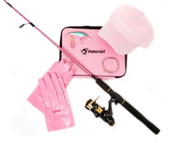 girls ladies pink camouflage fishing pole 6.5 ft graphite rod 32, Fishing Rod