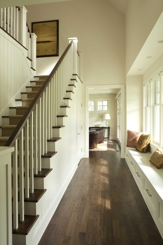 Best Indoor Stair Railing Staircase Traditional With Handrail 400 x 300