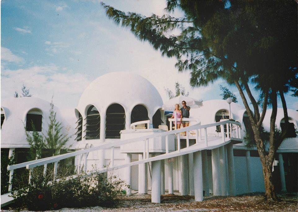 The Dome Home on Cape Romano before