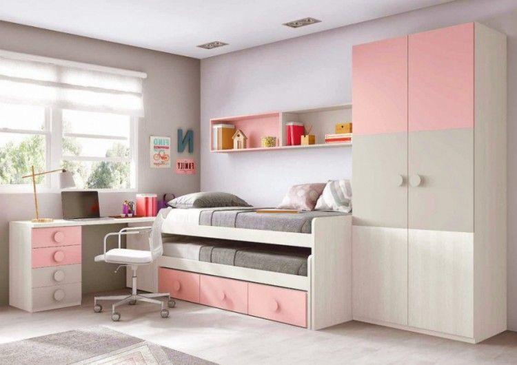 Chambre ŕ Coucher Ado Fille en 2020 | Chambre à coucher ...