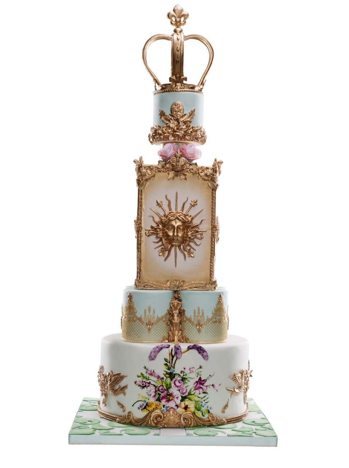 Versailles Cake My Vision Of Royal Wedding Cake Silver Medal Sugar
