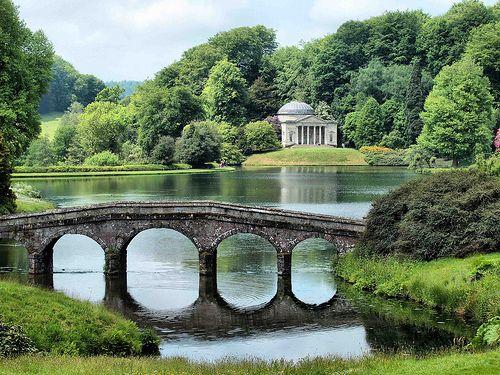 The Palladian Bridge From Pride And Prejudice