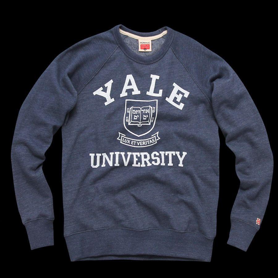 Sweatshirts In My Clothes Crewneck 2019 University Style Yale F78Bxvw