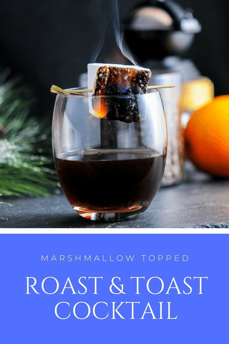 The Roast and Toast - Bourbon Cocktail - amaro, whiskey, brulee liqueur, cold br...