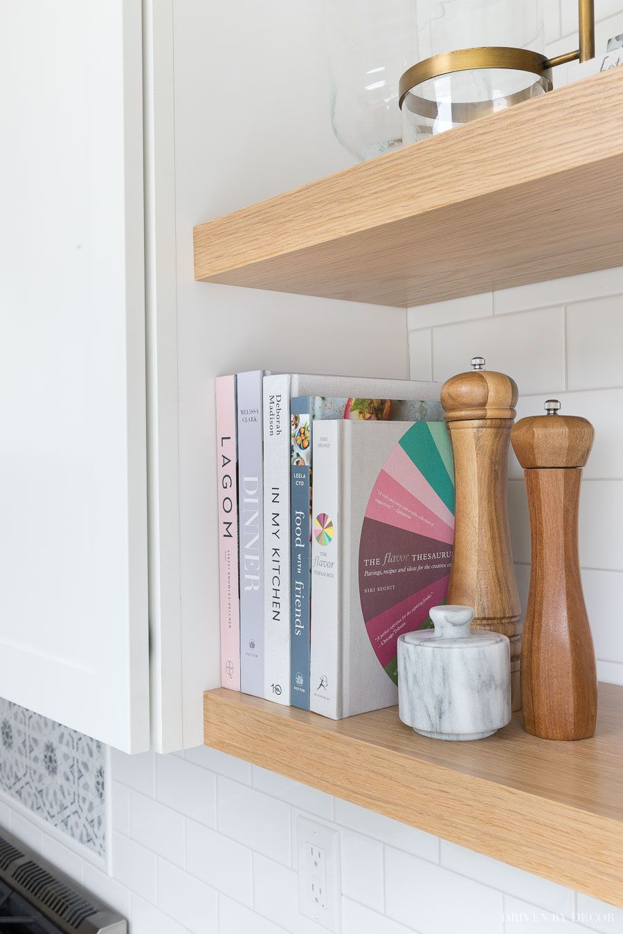 Diy Floating Corner Shelves In Our Kitchen All The Details