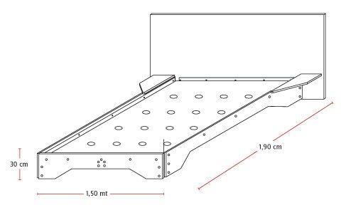 H galo usted mismo c mo construir una cama de dos for Como hacer una cama de madera de 2 plazas