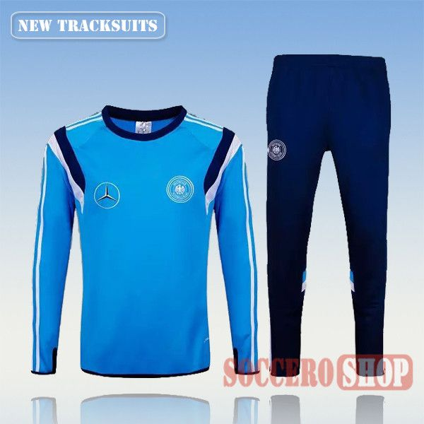 c9676a3174cf Adidas Jacket · Deutsch · Current Top Quality Mens Germany 2015 2016 Blue  Tracksuit Personalised Customised
