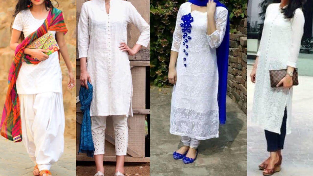 Ihram Kids For Sale Dubai: Daily Wear White Kurta With Palazzo, Pants,jeans ,Patiala