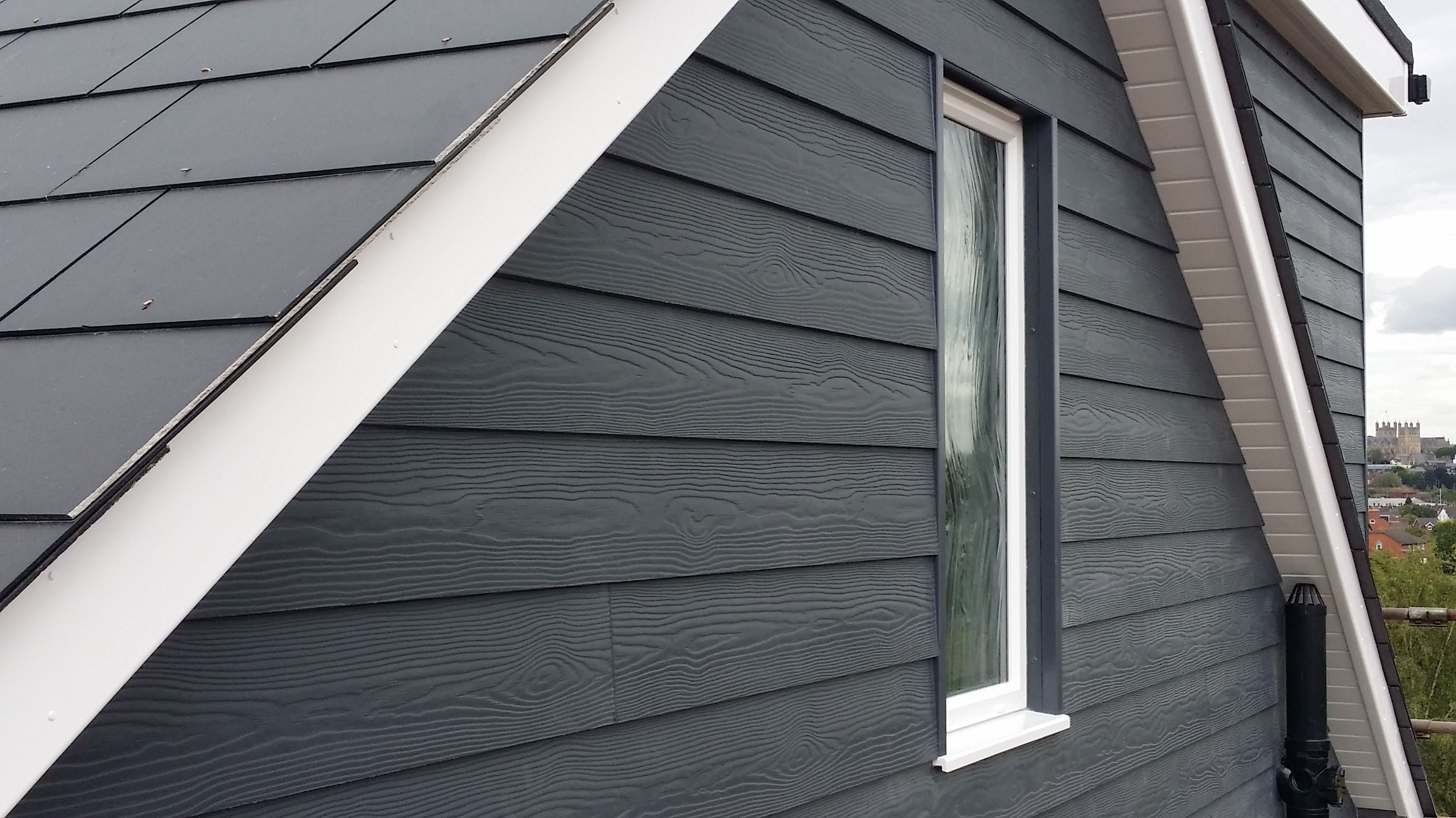 Fibre Cement Cedral Weatherboard External Cladding Is The