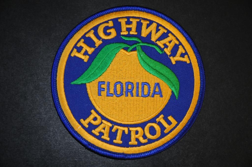 Florida Highway Patrol Patch (Current Issue) States