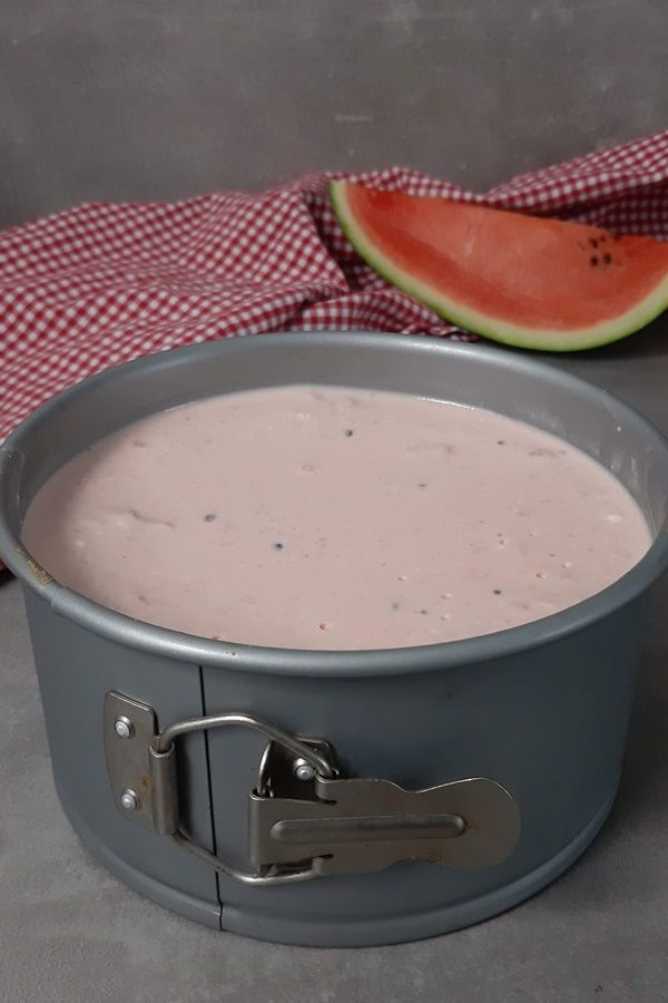 3 Punkte Kuchen, die Weight Watchers Melonen-Torte #melonrecipes