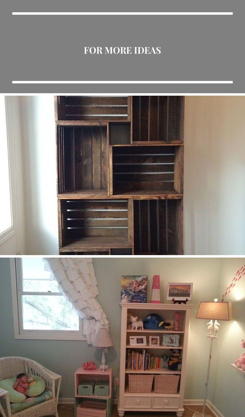 Photo of DIY Holzkiste Bücherregal – eine großartige Möglichkeit, diese Kisten herzustellen … #up …, # Bücherregal …