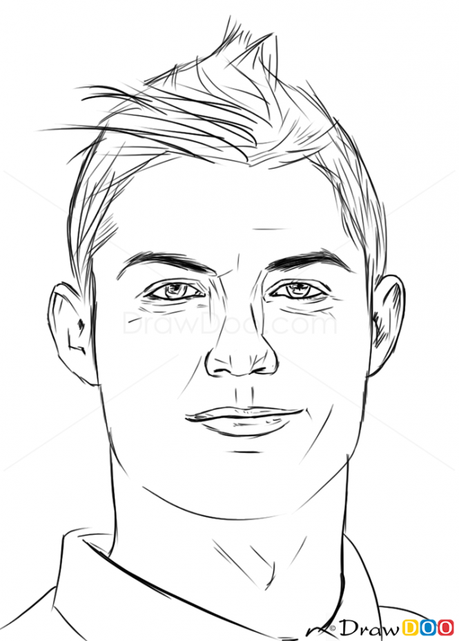How To Draw Cristiano Ronaldo Celebrities Ronaldo Cristiano Ronaldo Cristiano Ronaldo Shirtless