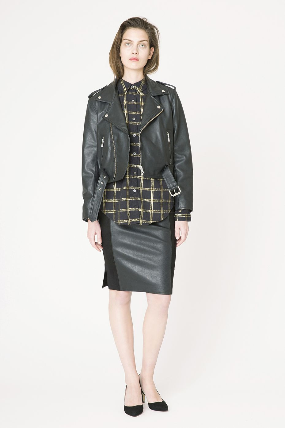 Coats Jackets Biker Jacket Shopping Outfit Ganni Jackets [ 1395 x 930 Pixel ]