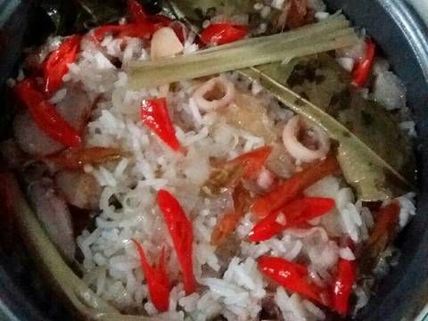 Resep Nasi Liwet Cumi Asin Oleh Lizna Ananda Resep Resep Makanan Masakan