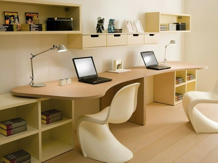 Study table for two kids wonderful and ergonomic bedroom ideas for two children by dearkids JHVSPMP