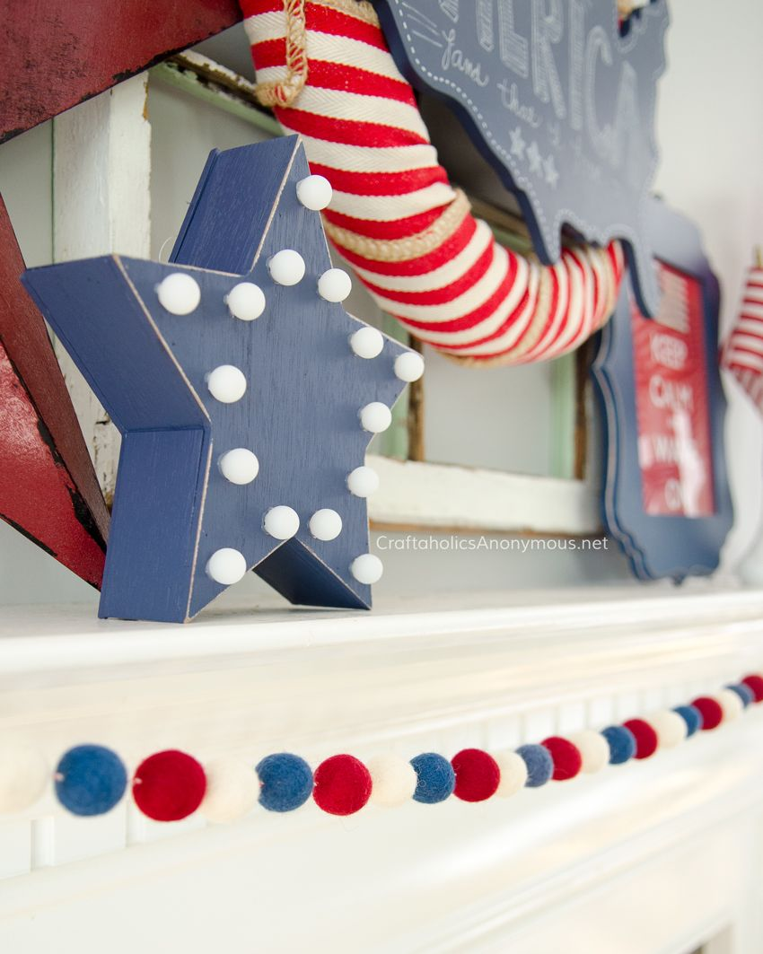 Lovely 4th Of July Decor