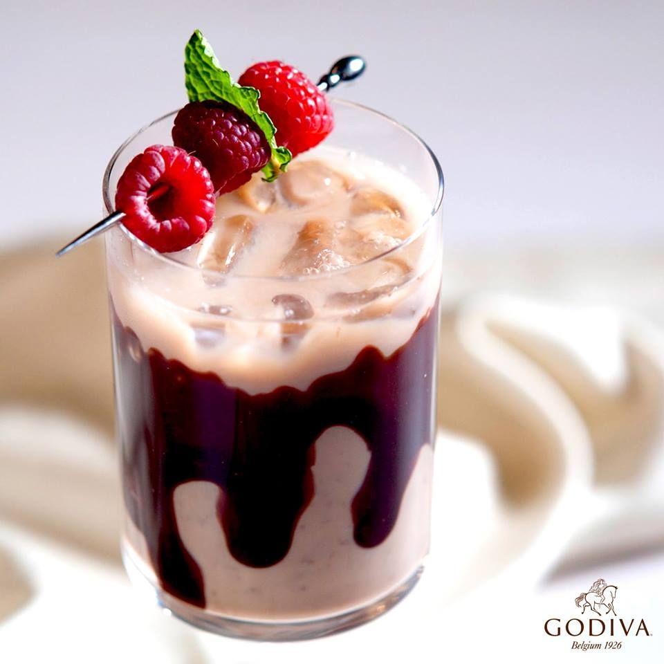 GODIVA Chocolate Covered Raspberry 1.5 Oz. GODIVA White