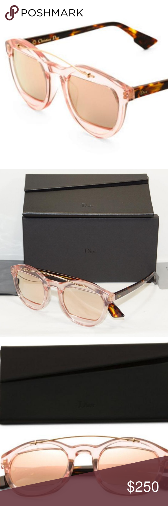 78b9098d0087 I just added this listing on Poshmark  CHRISTIAN DIOR PINK HAVANA SUNGLASSES  DIOR MANIA1.