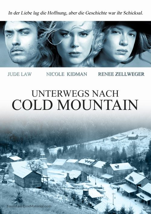 Cold Mountain Cold Mountain Movie Covers Cold