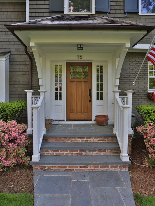 Front Steps With Portico Home Design Ideas, Pictures, Remodel and ...