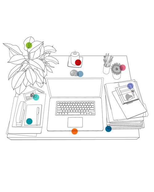 How To Feng Shui Your Workspace Clean Your Office Doyle In 2019 Feng Shui At Work Feng